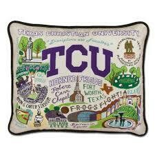 CS Pillow TCU