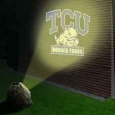 Logo projection rock -TCU