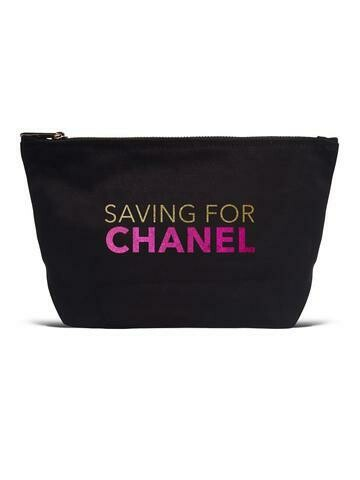 Pouch Canvas Saving For Chanel