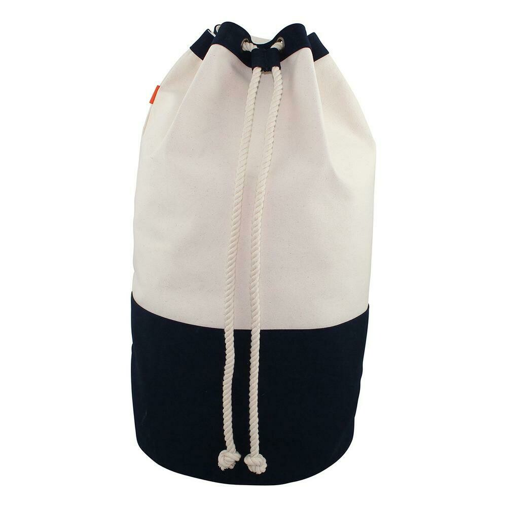 CBS Laundry Bag Canvas Navy #6231