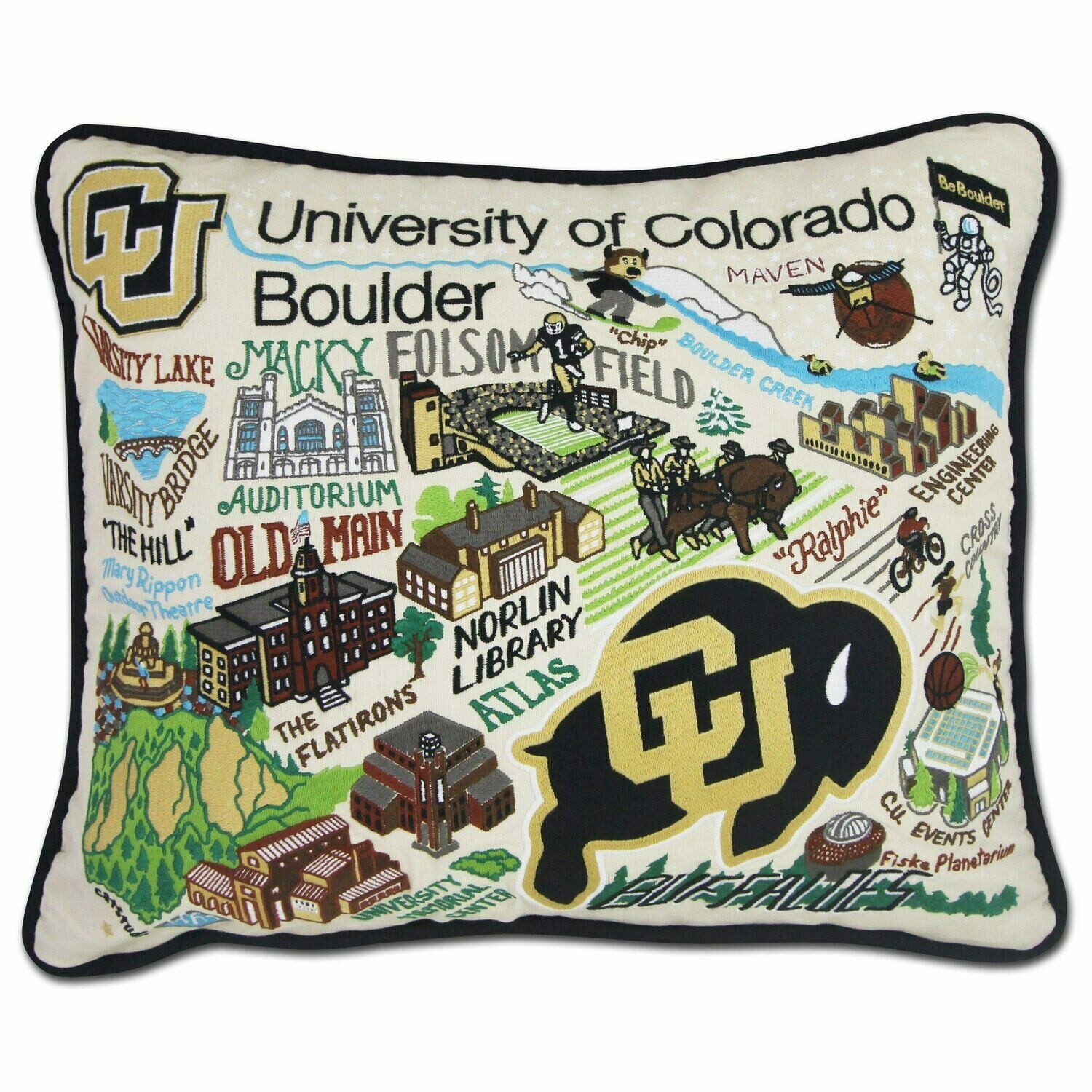 CS Pillow Collegiate U of Colo Boulder
