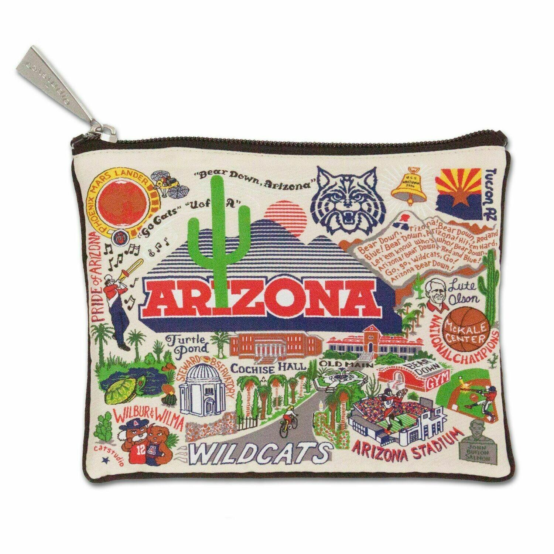 CS Zip pouch University of Arizona