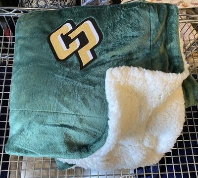 SSA Sherpa Blanket Green 8712