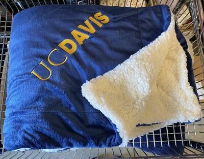 SSA Sherpa Blanket Navy 8712