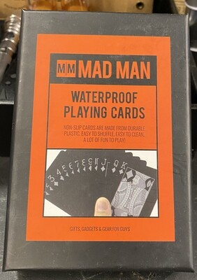 MAD Waterproof Playing Cards