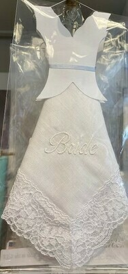Hanky Bride White Wedding Dress