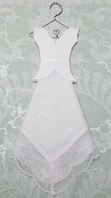 SC Hanky  Mother of the Groom White Wedding Dress