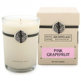 AB Candle in box pink grapefruit