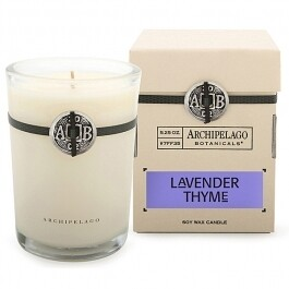 AB Candle in box lavender thyme