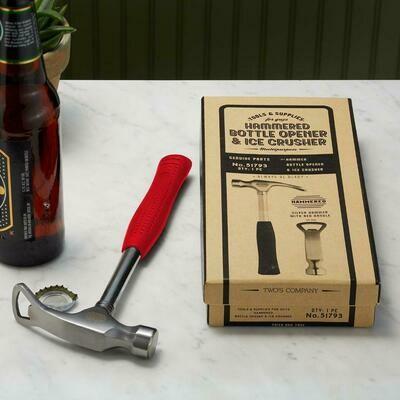 TC Hammer Bottle Opener w/Ice Crusher