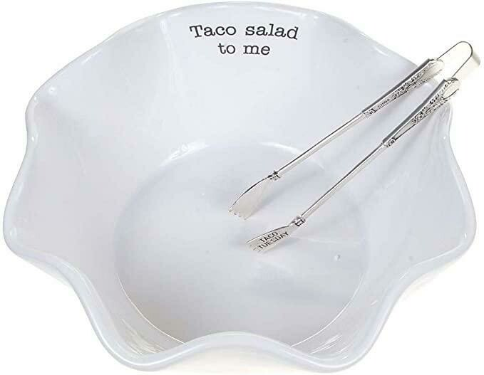 MP Taco Salad Bowl Set