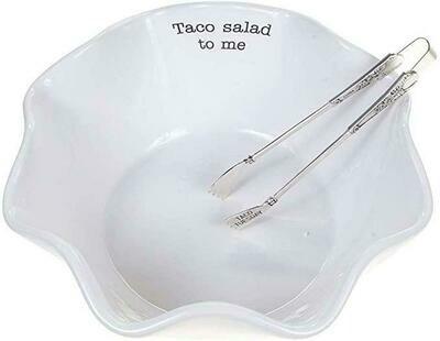 MP Taco Salad Bowl Set