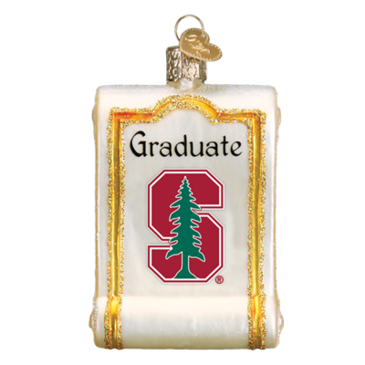 Ornament Stanford Diploma