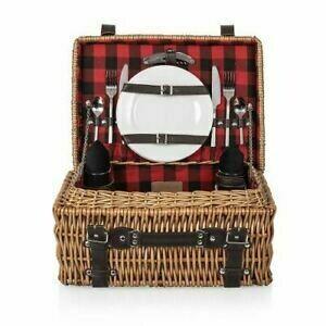 PT picnic Basket R/B Buffalo