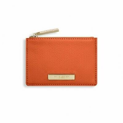 KL Card Holder Burnt Orange