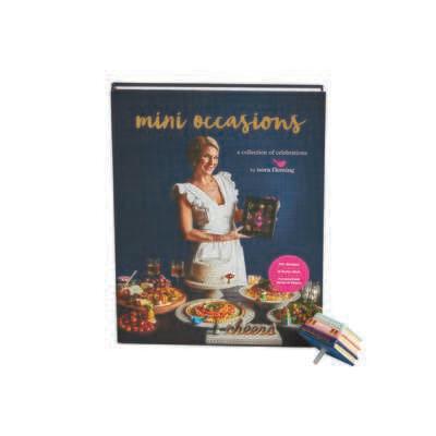 NF Cookbook and stack of Books Mini Promo