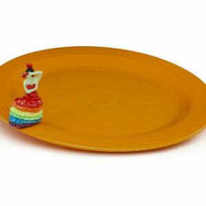 NF Fiesta Round Platter w/mini