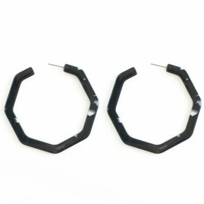 SI hoop earrings