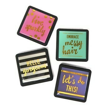 Compact Mirror Oh My Chic