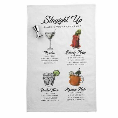 MP Vodka Recipe Towel Set