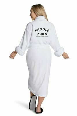 LAT Middle Child Plush Robe