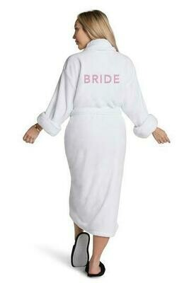 LAT Bride Plush Robe