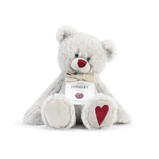 D monthly birthstone bear