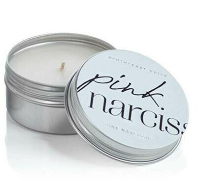 Z Candle Tin Pink Narciss