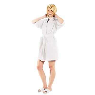 TT Robe Waffle Kimono White 36