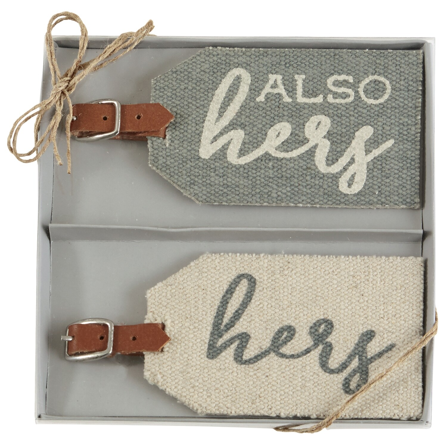 MP Hers/Also Hers Luggage Tags Dhurrie