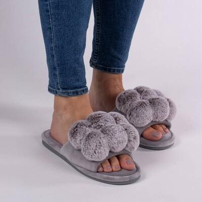 Dolly Pom Pom Slippers