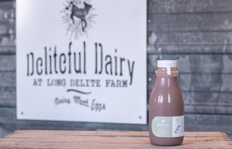 Chocolate Milk-12 oz- FM