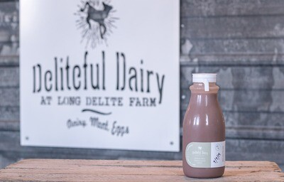 Chocolate Milk-12 oz- FM