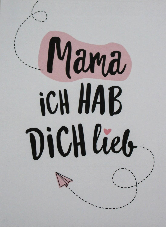 Mama ich hab dich lieb