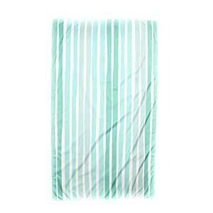 Aruba Stripe Beach Towel in Mint/Sky/Water