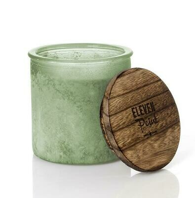 Eleven Point Candle - River Rock Sage - Willow Woods