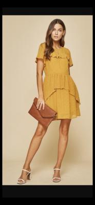 Little London Dress in Marigold