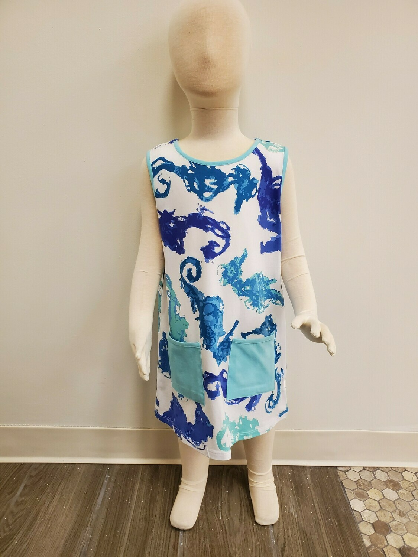 Three Friends Polyanna Seahorse Dress
