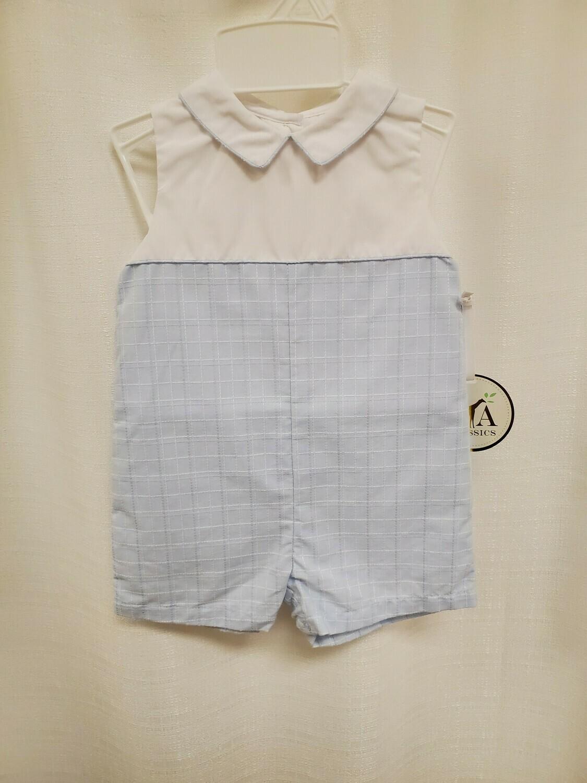 Petit Ami [2877] Blue and White Shortall