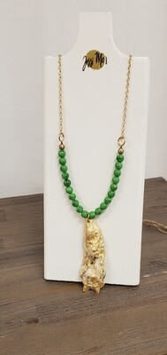 Jessi Mo's Oyster Shell Necklace - Morocco