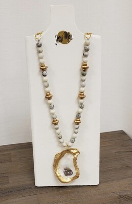 Jessi Mo's Oyster Shell Necklace - Sydney
