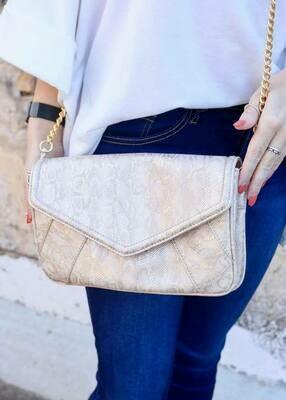 Lauren Crossbody Bag With Chain Strap- 2 Options [P18009]