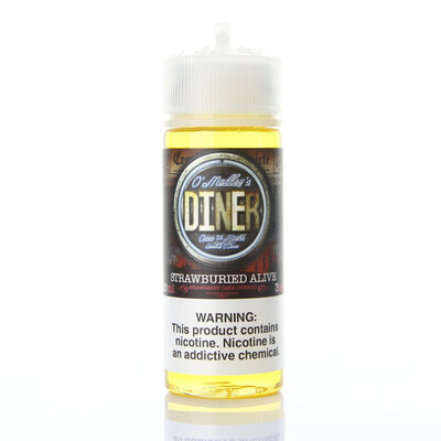 O'Malley's Diner Strawburied Alive 120ml