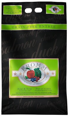 Fromm Four Starr Cat Surf & Turf 15lb