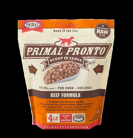 Primal Prontos 4 lb - Beef