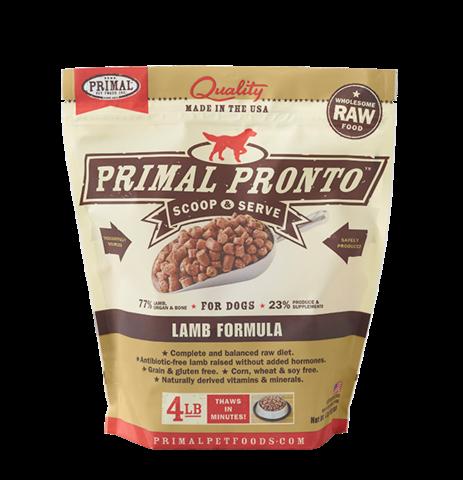 Primal Prontos 4 lb - Lamb