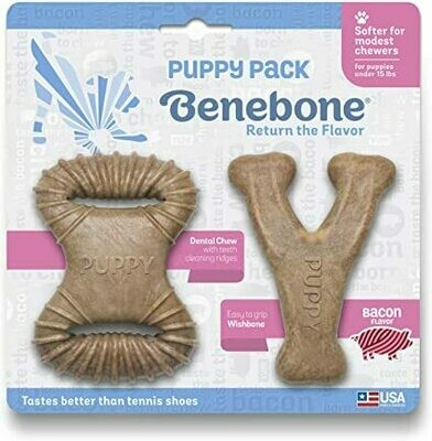 Benebone Puppy Pack Bacon
