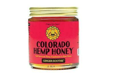 Colorado Hemp Honey 6oz Jar - Ginger Soothe