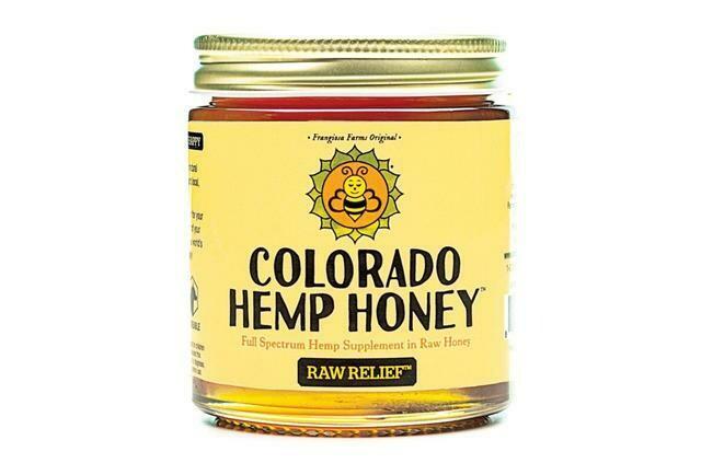 Colorado Hemp Honey 6oz Jar - Raw Relief