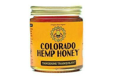 Colorado Hemp Honey 6oz Jar - Tangerine Tranquility